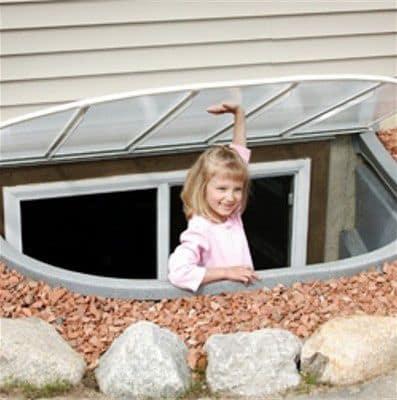 Window Well Egress Wet Basement Waterproofing Northern Va
