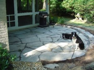 Irregular Flagstone Patio