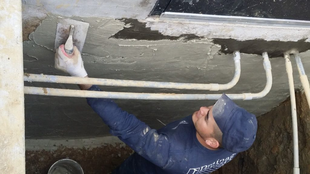 home waterproofing company Arlington VA