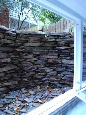 Window Wells – Stone