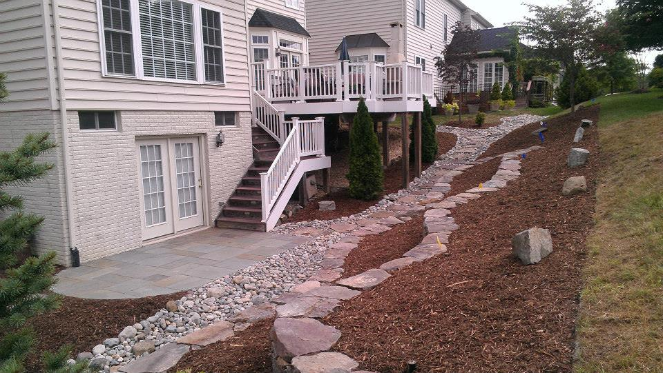 home waterproofing company project in Burke VA