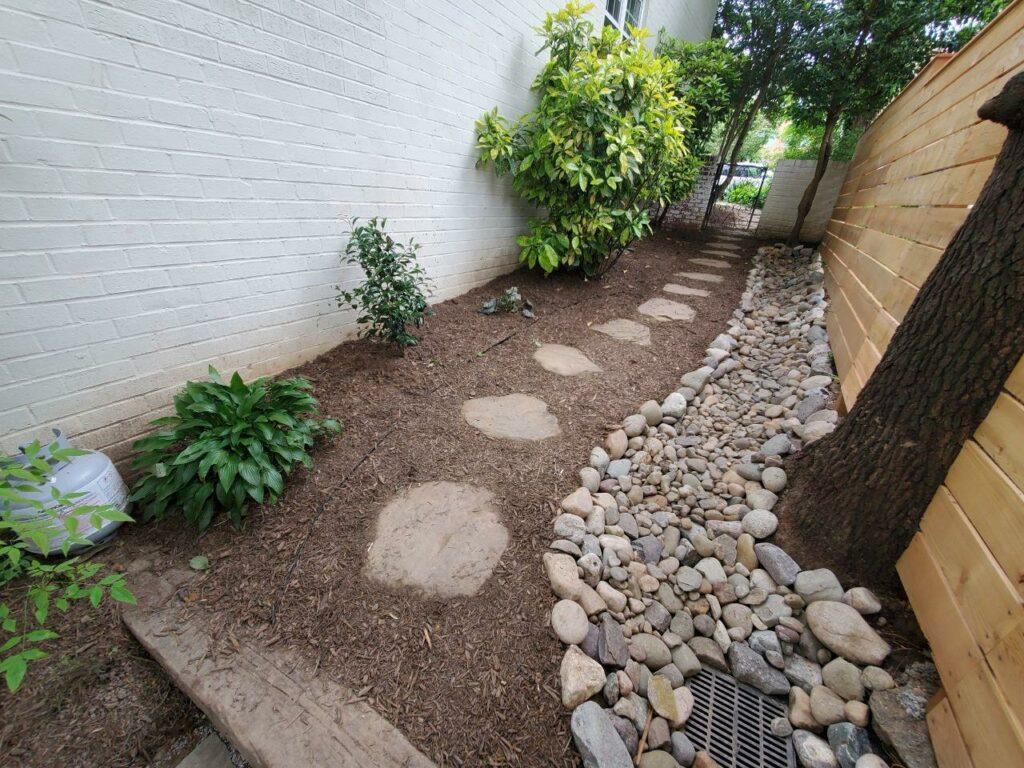 custom yard drainage Centreville VA