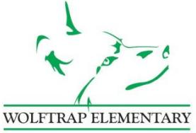 Wolftrap Elementary School Logo